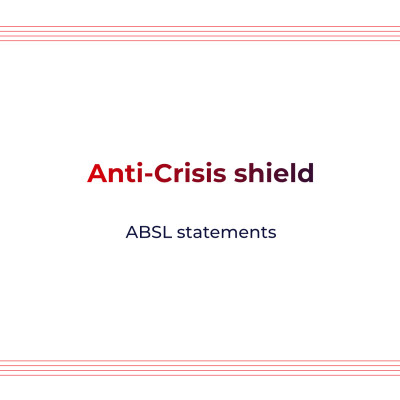 Anti-Crisis shield - ABSL statement