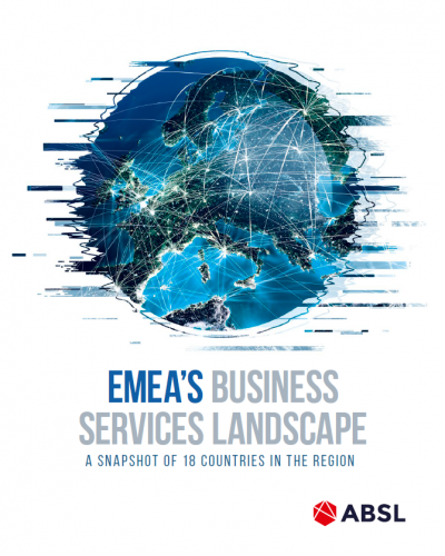 ABSL presents EMEA'S BUSINESS SERVICES LANDSCAPE report