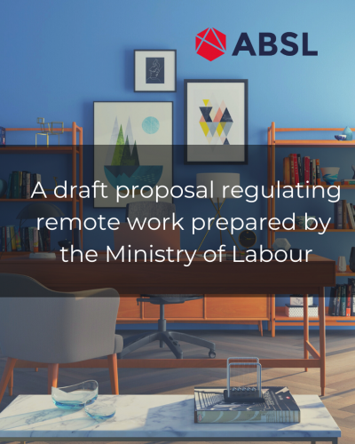 A draft proposal regulating remote work