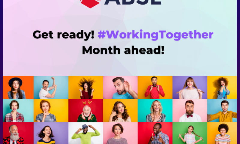 Join #WorkingTogether2020 - engage in our activities!
