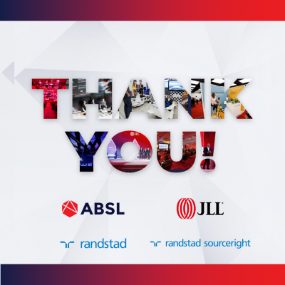Partnership with JLL and Randstad Sourceright - thank you