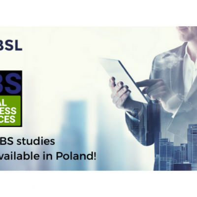 First GBS studies now available at Cracow University of Economics