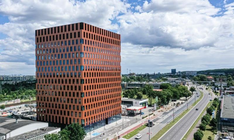 Wave: a Tri-City office building that creates a unique working environment